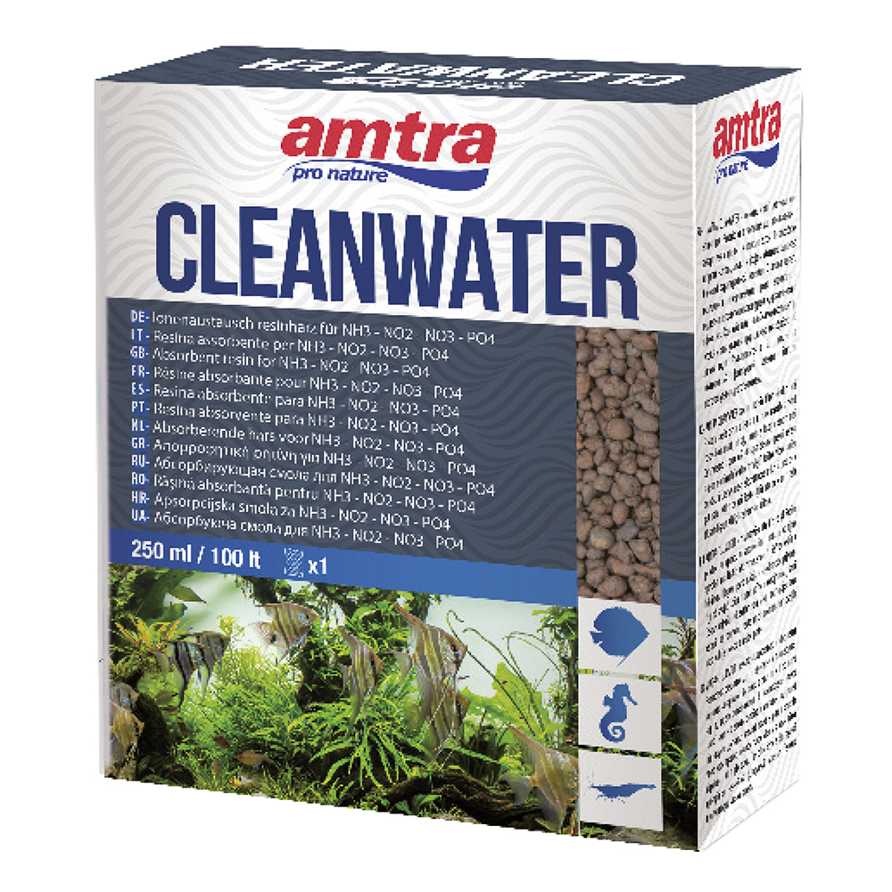 Amtra Cleanwater Elimina inquinanti 250ml per 100lt