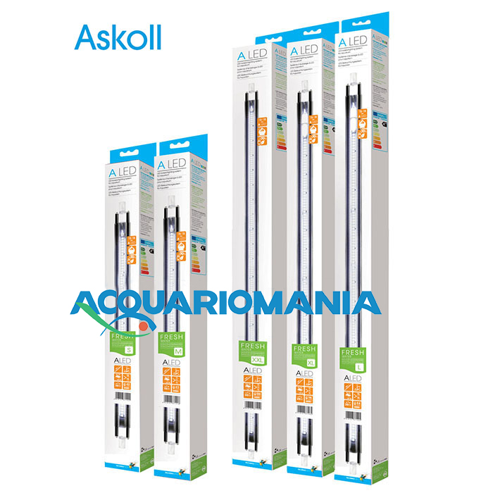 Askoll Lampada A LED Fresh Water S 6500K° (T8 15W/T5 24W) 437mm 10W
