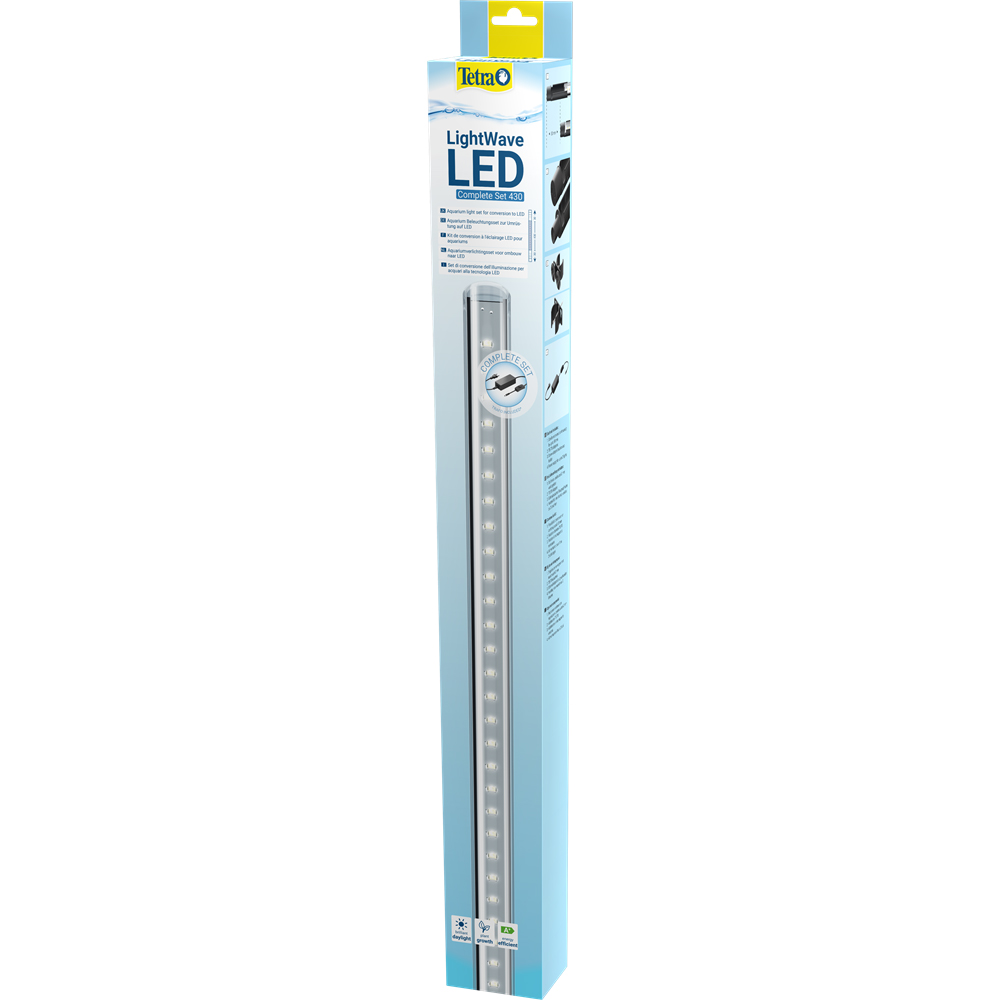 Tetra LightWave Set 830 Lampada a Led 780mm 25,6W per dolce
