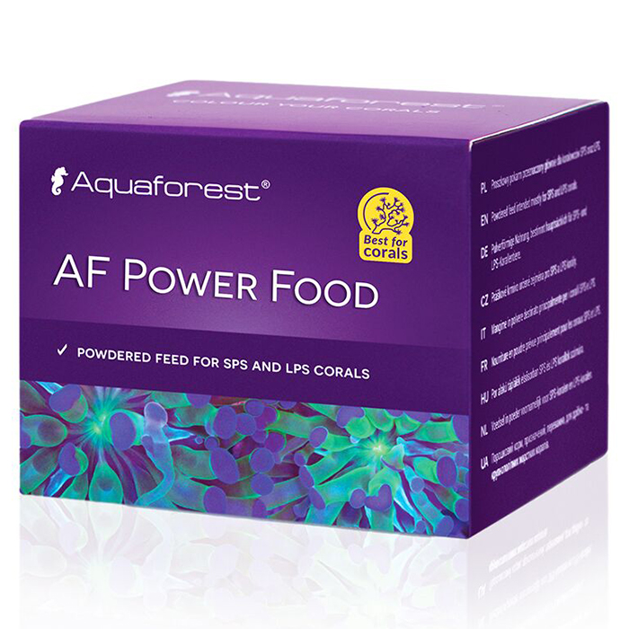 Aquaforest AF Power Food Alimento per Coralli 20g