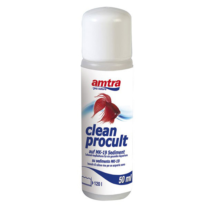 Amtra Clean Procult Batteri vivi Freschi 50ml