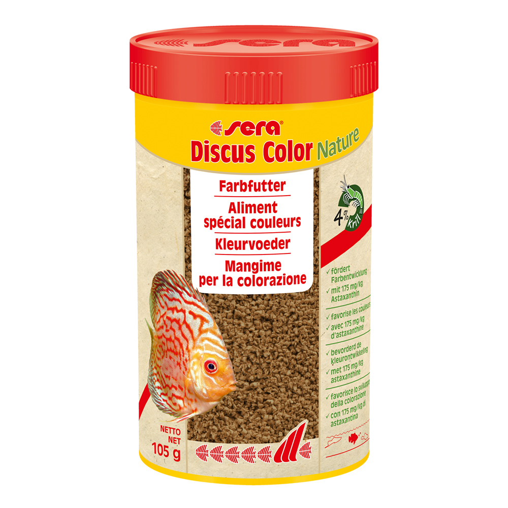 Sera Discus Color Nature 250ml 105g